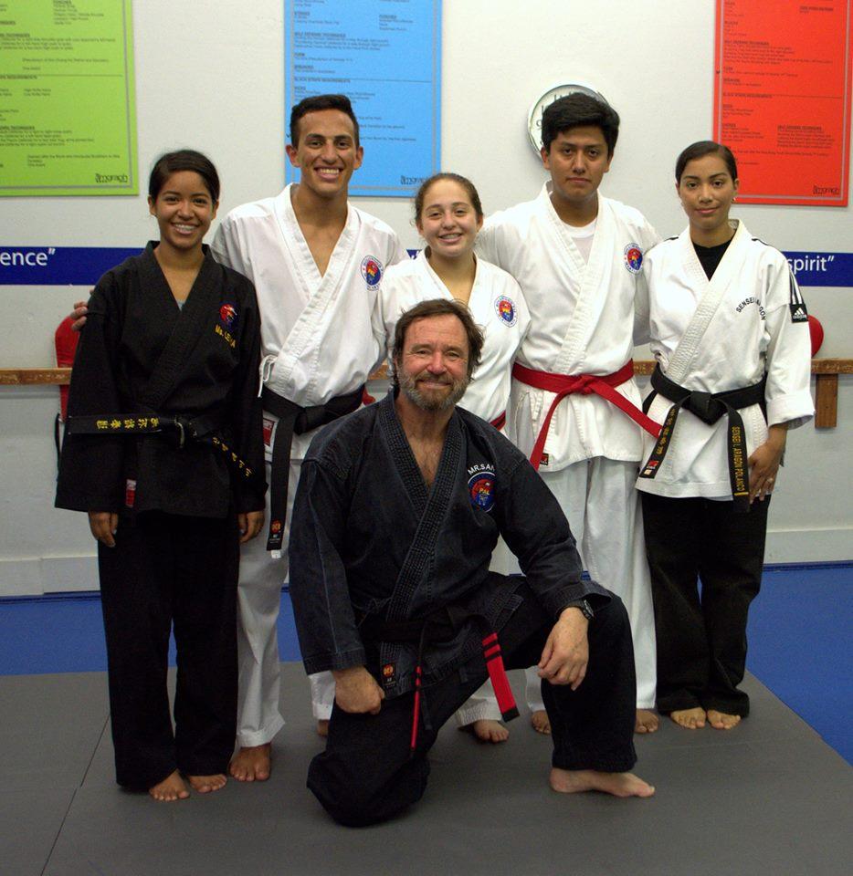Andrew Franco Earns Black Belt