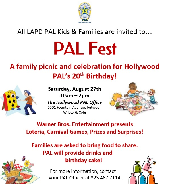 Celebrate HPAL's 20th Birthday at PAL Fest 2016