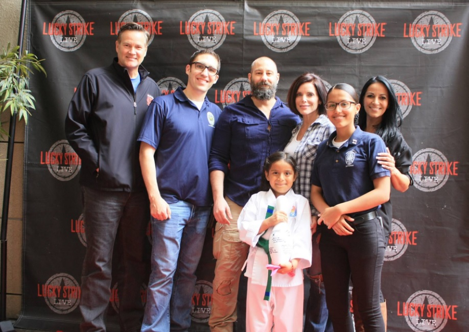 Hollywood PAL Hosts Celebrity Bowling Tournament