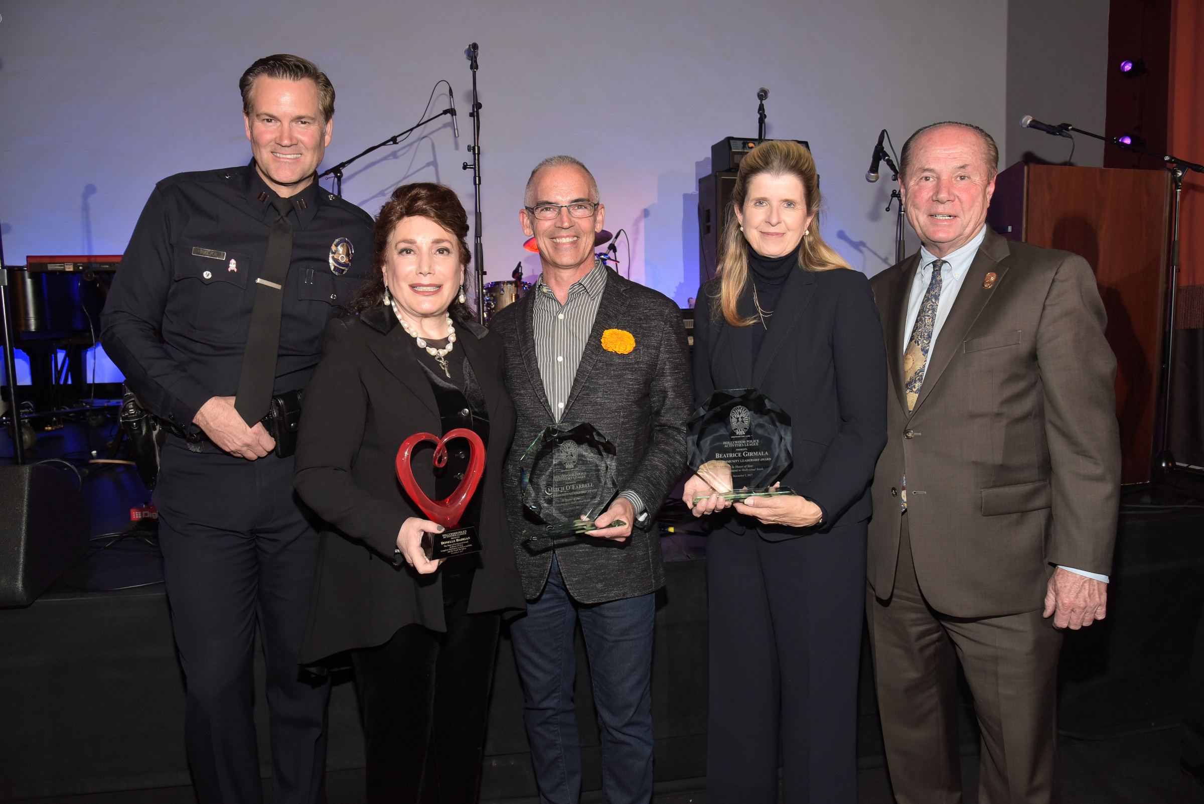 Hollywood PAL Honors Beatrice Girmala, Mitch O'Farrell and Donelle Dadigan at 2017 PAL Awards Gala