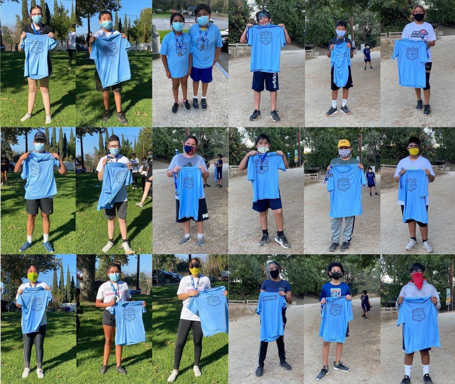 Hollywood PAL Run Club Finishes their First Virtual 5K